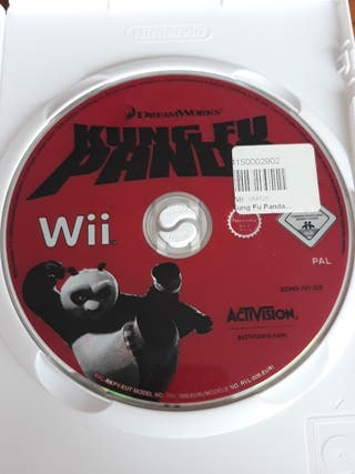 juego wii kung fu panda