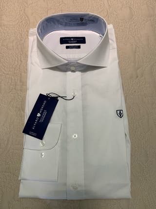 Camisa blanca de vestir Álvaro Moreno sin estrenar
