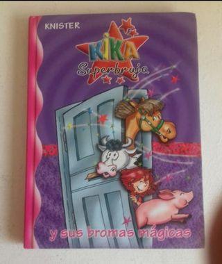 libro Kika superbruja y sus bromas