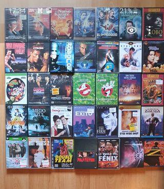 Pack Películas en Blu Ray y DVD