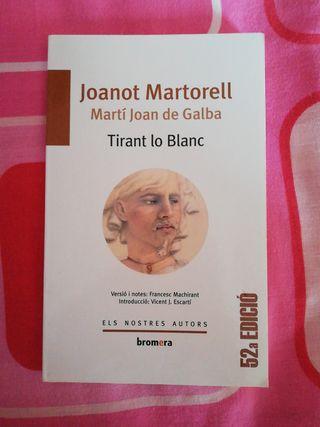 Libro Tirant lo Blanc Joanot Martorell