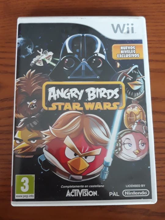 juego wii angry birds star wars
