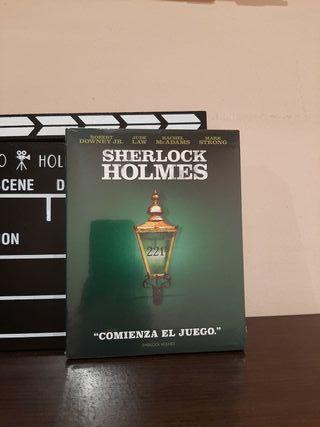 SHERLOCK HOLMES BLU-RAY PRECINTADO