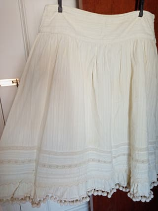 Falda midi de Zara, t. L