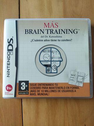 Juegos DS,2DS,3DS (Más Brain Training)