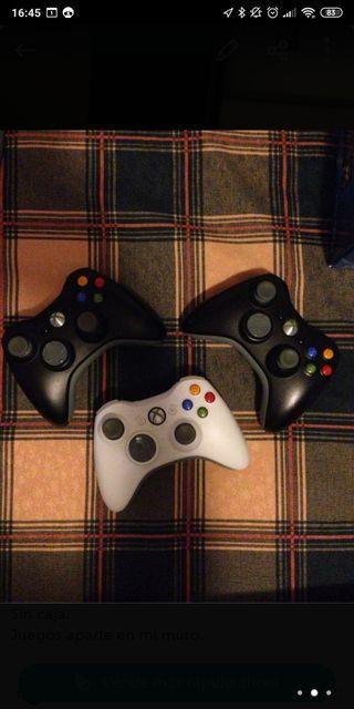 Mandos Xbox 360 elite inalámbricos