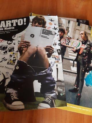 Revistas Arto! de Madriz