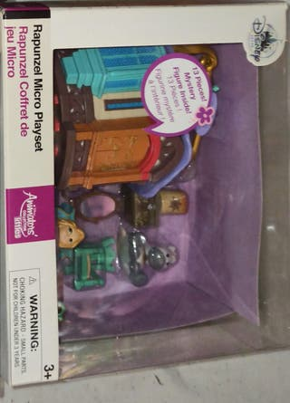 micro set rapunzel animators littles