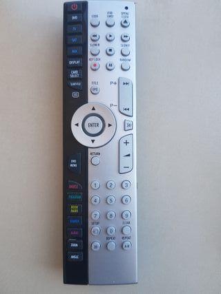 Mando tv y Receptor satélite