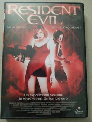 Resident Evil Pelicula DVD