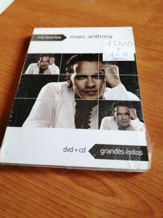 DVD+CD, MARC ANTHONY, nuevo