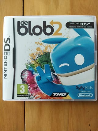 Juegos DS,2DS,3DS ( De Blob 2 )