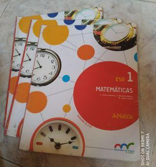 Libro de matemáticas 1° ESO
