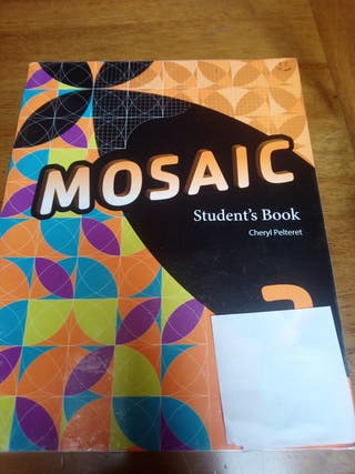 2 ESO MOSAIC student's book. oxford