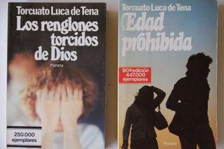 2 libros de Torcuato Luca de Tena