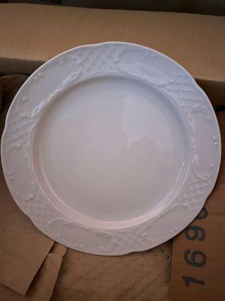 Platos de postre porcelana