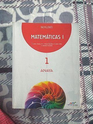 Libros de 1° Bachillerato- Matemáticas