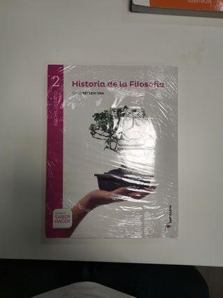LIBRO FILOSOFÍA 2BACH EDITORIAL SANTILLANA