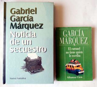 2 libros de García Márquez