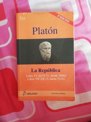 Libro Platón La República