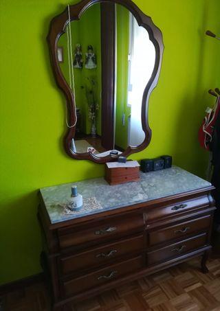 habitación vintage