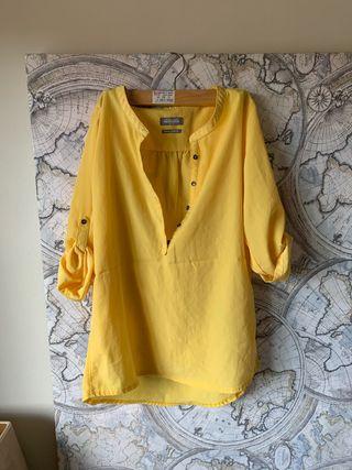 Camiseta amarilla nueva XS-S