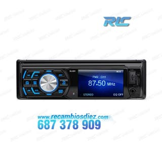 RADIO 1DIN CON PANTALLA DE 3 PULGADAS HD USB SD