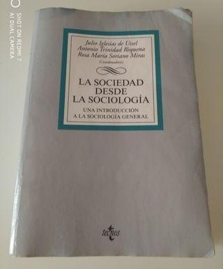 Libro La sociedad desde la sociología