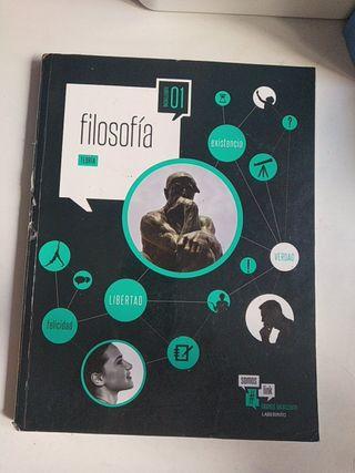 Libro Filosofía 1°bach