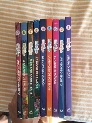 Colección libros Mila y Luna