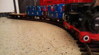 Antiguo tren de playmobil