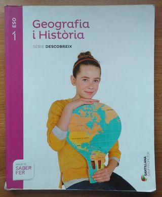 Geografia i Història 1r ESO + Atles de Geografia
