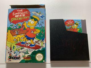 Bart vs Space Mutants Juego NES