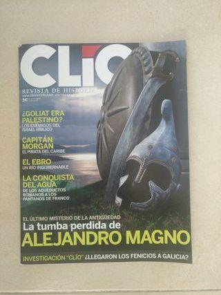 Revista Clio dedicada a Alejandro Magno