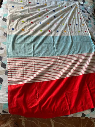 2 cortinas infantiles 120X168