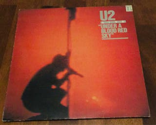 U2 : LIVE Under a Blood Red Sky Disco Vinilo LP