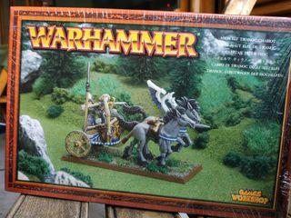 Warhammer carruaje de tiranoc
