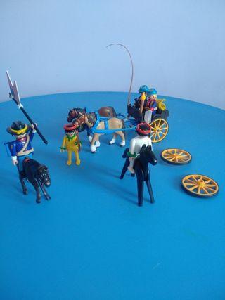 indios y séptimo caballería Playmobil