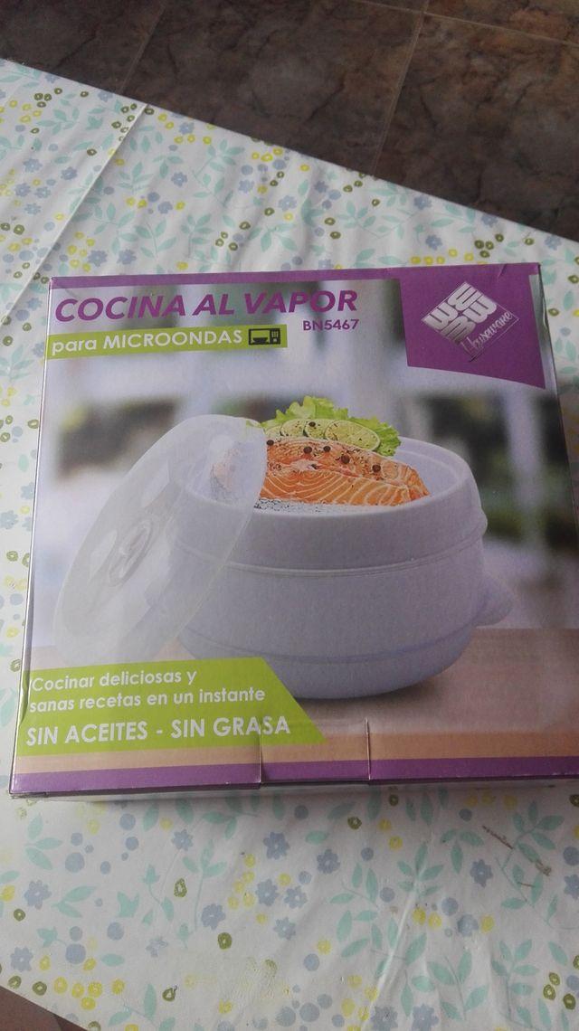 COCINA VAPOR MICROONDAS