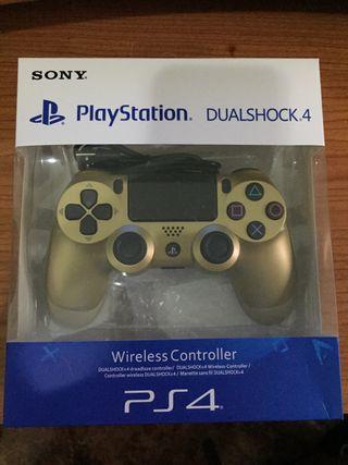 MANDO PS4 V2 DORADO Playstation 4 PRECINTADO