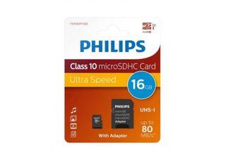 Micro SD phillips 16GB