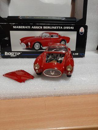 1/18 maqueta Maserati A6GCS Berlinetta 1954