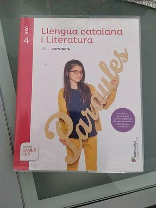 libro de 4 de la eso lengua catalana