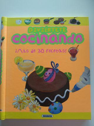 Libro Cocinando con niños y niñas