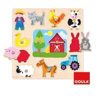 Puzzle Goula granja