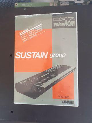 Yamaha DX7 Libreria Sustain group