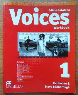 """Voices Edició Catalana """"Workbook"""" 1r ESO"""