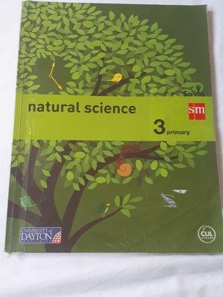 Libro SM natural science 3º primaria