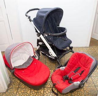 carrito bebé completo 3 piezas Peg Perego