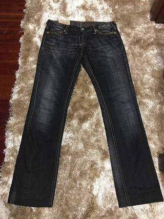 Pantalon vaquero negro